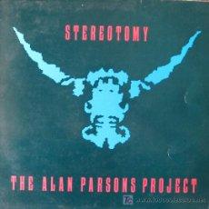 Discos de vinilo: THE ALAN PARSON PROJECT. STEREOTOMY LP 33 RPM ARIOLA 1985. Lote 26053547