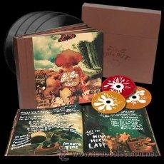 Discos de vinilo: CAJA DE LUJO OASIS DIG OUT YOUR SOUL 4 VINILOS 2CD + 1 DVD + 1 LIBRO 24 PAGINAS. Lote 105971659