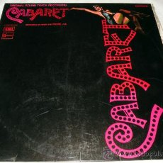 Discos de vinilo: ANTIGUO DISCO DE VINILO LP CABARET BANDA SONORA ORIGINAL ORIGINAL SOUND TRACK RECORDING - EMI 1972 -. Lote 21354114