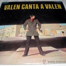 Discos de vinilo: ANTIGUO DISCO DE VINILO LP VALEN CANTA A VALEN - AÑO 1969 - CON CANCIONES COMO EN CUALQUIER LUGAR DE. Lote 21429253