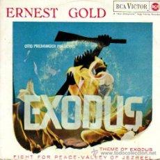 Discos de vinilo: EXODUS *ERNEST GOLD CON LA ORQUESTA SINFONICA DE LONDRES**MÚSICA DEL FILM DEL MISMO NOMBRE*. Lote 9916248
