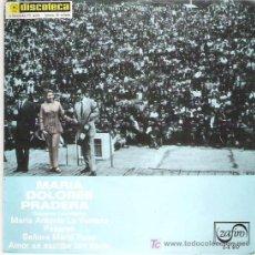 Discos de vinilo: MARIA DOLORES PRADERA CANCIONES COLOMBIANAS - EP *** ZAFIRO 1969. Lote 11306098