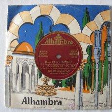 Disques de vinyle: FOLCLORE CANARIO - LOS HUARACHEROS, ISLA DE LA GOMERA, ETC ALHAMBRA.. Lote 23895473