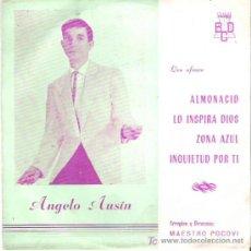 Discos de vinilo: ANGELO AUSÍN - ALMONACID *** EP BCD 1964. Lote 146371025