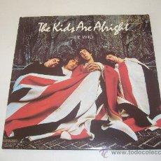 Discos de vinilo: THE WHO - THE KIDS ARE ALRIGHT -2 LP- USA 1979 - VINILOVINTAGE. Lote 23518553