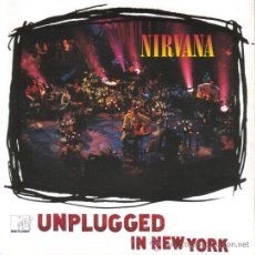 Discos de vinilo: LP NIRVANA UNPLUGGED IN NEW YORK VINILO MTV. Lote 120607111