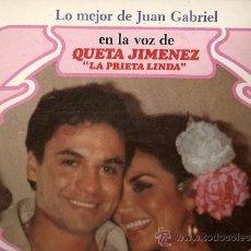 Discos de vinilo: QUETA JIMENEZ LA PRIETA LINDA LP SELLO RCA VICTOR EDITADO EN MEXICO CANTA A JUAN GRABIEL.. Lote 9991352