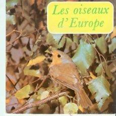 Discos de vinilo: DISCO SINGLE 33 RPM. LOS PAJAROS DE EUROPA. Lote 18495362