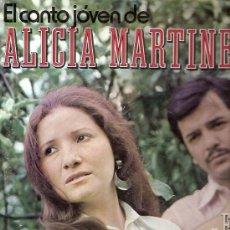 Discos de vinilo: ALICIA MARTINEZ CON EL CHANGO GONZALEZ LP SELLO RCA VIK EDITADO EN ARGENTINA.. Lote 10003625