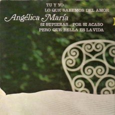 Discos de vinilo: ANGELICA MARIA LP SELLO RCA VICTOR EDITADO EN MEXICO PROMOCIONAL PORTADA DOBLE.. Lote 10003634