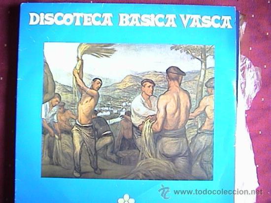 BIBLIOTECA BASICA VASCA (Música - Discos - LP Vinilo - Étnicas y Músicas del Mundo)