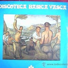 Discos de vinilo: BIBLIOTECA BASICA VASCA. Lote 10030453