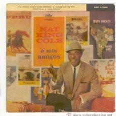 Discos de vinilo: DISCO DE NAT KING COLE, ANSIEDAD, PERFIDIA.... Lote 27633103