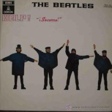 Discos de vinilo: THE BEATLES : HELP! (SOCORRO). ODEON 1J060-04257 M. 1965. Lote 10034444
