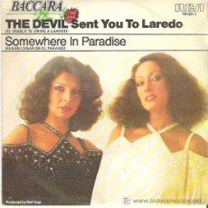 Discos de vinilo: BACCARA - THE DEVIL SENT YOU TO LAREDO *** RCA VICTOR 1978. Lote 10037950
