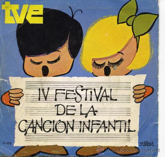 IV FESTIVAL DE LA CANCION INFANTIL - ISABEL - (Música - Discos - Singles Vinilo - Otros Festivales de la Canción)