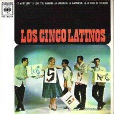 Discos de vinilo: LOS CINCO LATINOS - I LOVE YOU BAMBINA **** CBS 1962. Lote 16406614
