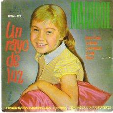Discos de vinilo: MARISOL - UN RAYO DE LUZ *** EP ZAFIRO 1960 ***. Lote 19828324