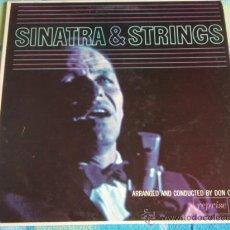 Discos de vinilo: FRANK SINATRA BY DON COSTA & ORCHESTRA ( SINATRA & STRINGS ) ENGLAND LP33 REPRISE. Lote 10051379