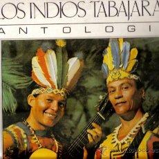 Discos de vinilo: LP LOS INDIOS TABAJARAS - ANTOLOGIA. Lote 15144454