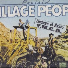 Discos de vinilo: LP VILLAGE PEOPLE - CRUISIN´. Lote 26900382