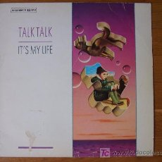 Discos de vinilo: IT'S MY LIFE / TALK TALK / MAXI-SINGLE. Lote 120159218