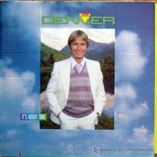 Discos de vinilo: LP JOHN DENVER-IT,S ABOUT TIME-EDICION AMERICANA. Lote 25139344