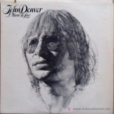 Discos de vinilo: LP JOHN DENVER-I WANT TO LIVE-EDICION AMERICANA. Lote 25139338