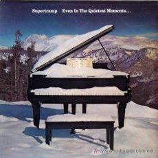 Discos de vinilo: LP SUPERTRAMP-EVEN IN THE QUIETEST MOMENTS. Lote 19437147