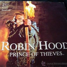 Discos de vinilo: ROBIN HOOD-EL PRINCIPE DE LOS LADRONES. Lote 10073313