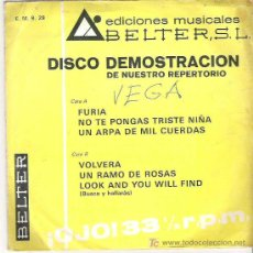 Discos de vinilo: WOOLLEY & BORN - LOOK AND YOU WILL FIND *** SPAIN PS FREAKBEAT FUZZ HEAR + FURIA + MONICA 1972. Lote 11698493