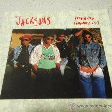 Discos de vinilo: THE JACKSONS ( NOTHIN - ALRIGHT WITH ME ) HOLANDA-1989 SINGLE45. Lote 10074659