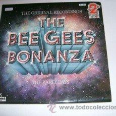 Discos de vinilo: BEE GEES LP BONANZA 2 LPS THE EARLY YEARS VOL.1 DOBLE PORTADA ABIERTA. Lote 21910137