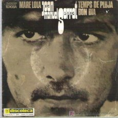 Discos de vinilo: JOAN MANUEL SERRAT - MARE LOLA *** EP EDIGSA 1969. Lote 16909198
