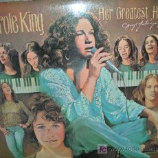 Discos de vinilo: CAROLE KING-HER GREATEST HITS. Lote 27316944