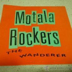 Discos de vinilo: MOTALA ROCKERS ( THE WANDERER - STICKS AND STONES ) 1992 SINGLE45 SONET GRAMMOFON. Lote 10106404