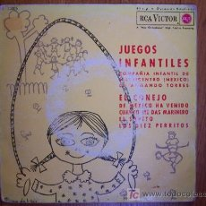 Discos de vinilo: JUEGOS INFANTILES / COMPAÑÍA INFANTIL DE TELEVICENTRO ( MÉXICO) DE ARMANDO TORRES. Lote 26314084
