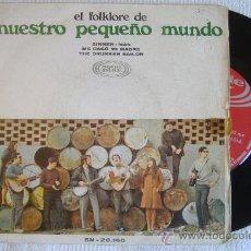 Discos de vinilo: EL FOLKLORE DE NUESTRO PEQUEÑO MUNDO. Lote 26957658