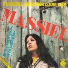 Discos de vinilo: MASSIEL - LA LA LA - PENSAMIENTOS SENTIMIENTOS - NOVOLA 1968 - VINILO IMPECABLE.. Lote 26720529