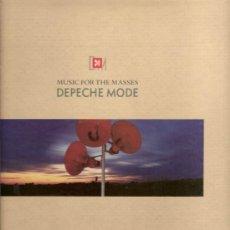Discos de vinilo: 279 DISCO DE VINILO L.P. DE DEPECHE MODE, MUSIC FOR THE MASSES: NEVER LET ME DOWN AGAIN, THE THINGS . Lote 25103707