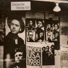 Discos de vinilo: 280 ALBUM CON DOBLE DISCO DE VINILO DE DEPECHE MODE, DEPECHE MODE 101: PIMPF, BEHIND THE WHEEL, STRA. Lote 25083327