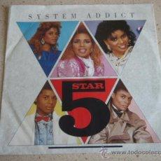 Discos de vinilo: STAR 5 ( SYSTEM ADDICT - PURE ENERGY ) GERMANY-1985 SINGLE45 RCA. Lote 10136305