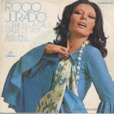 Discos de vinilo: ROCIO JURADO,CUAL ES LA CALLE DE VD.. Lote 10181836