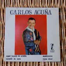 Discos de vinilo: SINGLE DE VINILO +++ CARLOS ACUÑA +++ TANGOS. Lote 10189891