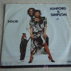 Discos de vinilo: ASHFORD & SIMPSON ( SOLID 2 VERSIONES ) 1984 SINGLE45 CAPITOL RECORDS. Lote 10199357