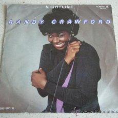 Discos de vinilo: RANDY CRAWFORD ( NIGHTLINE - THIS NIGHT WON'T LAST FOREVER ) GERMANY-1983 SINGLE45 WB. Lote 10199643