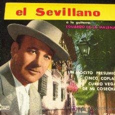 Discos de vinilo: EL SEVILLANO AÑO 1962 SAEF SF-20 75. Lote 10200313