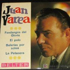 Discos de vinilo: JUAN VAREA - AÑO 1967 - BELTER 51 294. Lote 10200474