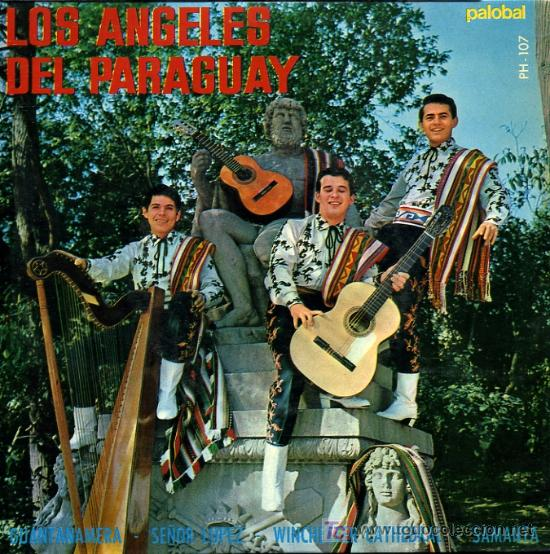 LOS ANGELES DEL PARAGUAY - GUANTANAMERA / SEÑOR LÓPEZ / WINCHESTER CATHEDRAL - EP 1967 (Música - Discos de Vinilo - EPs - Grupos y Solistas de latinoamérica)