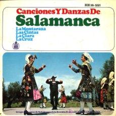 Discos de vinilo: GRUPO DE DANZAS DE SALAMANCA SECCIÓN FEMENINA Y DE LAS JONS - EP 1966 - FOLKLORE. Lote 16635853
